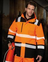 Printable Waterproof Softshell Safety Coat